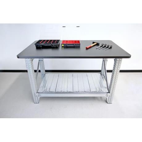 Stół warsztatowy cynkowany 1200x900x900H